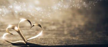 Волшебные сердца ленты Стоковые Фото
