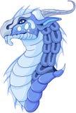 Волшебный дракон иллюстрация вектора
