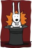 волшебный кролик Стоковое Фото