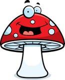 волшебный усмехаться гриба иллюстрация штока