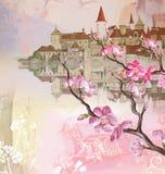 волшебство замока Стоковые Фото