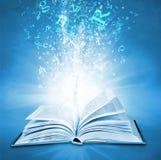 волшебство книги Стоковое фото RF