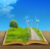 волшебство книги Стоковая Фотография RF