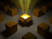 волшебство коробки Стоковое фото RF