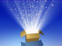 волшебство коробки Стоковые Фото