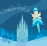 Волшебство на ноче Стоковое Изображение RF