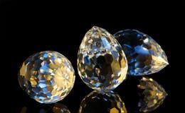 волшебство отрезока кристаллов Стоковое фото RF