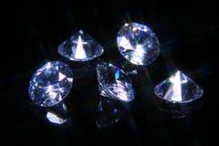 волшебство отрезока 5 кристаллов Стоковая Фотография RF