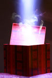 волшебство праздника коробки Стоковые Фотографии RF