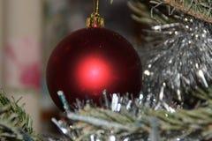 Волшебство рождества с красивыми украшениями Стоковые Фотографии RF