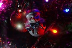 Волшебство рождества с красивыми украшениями Стоковое Фото