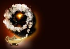 волшебство светильника бесплатная иллюстрация