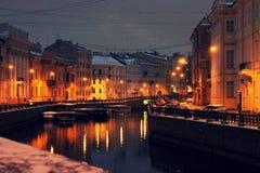 Волшебство улиц города стоковые фото