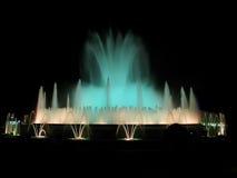 волшебство фонтана Стоковая Фотография