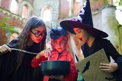 Волшебство хеллоуина Стоковое Изображение