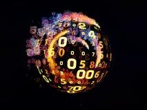 Волшебство цифровой информации Стоковая Фотография