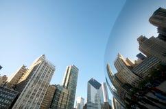 волшебство chicago фасоли Стоковое Изображение