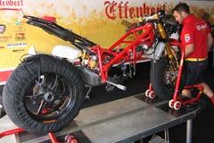 вольность двигателя effenbert ducati 1098r стоковое фото