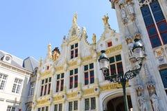 Вольность ренессанса Hall Брюгге в Брюгге, Бельгии стоковое изображение