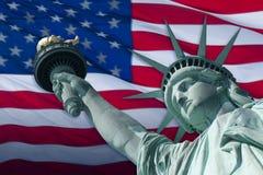вольность флага Стоковые Изображения RF