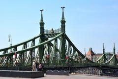 вольность budapest Венгрии моста стоковое фото rf