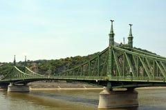 вольность budapest Венгрии моста стоковое изображение rf