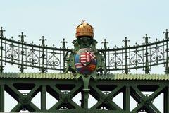 вольность budapest Венгрии моста стоковое изображение