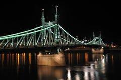 вольность budapest 2 мостов стоковые фото