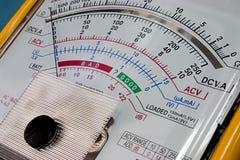 вольтамперомметр дисплея Стоковое Изображение RF