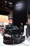вольт выставки paris мотора ягуара стоковое изображение