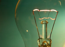 вольфрам светильника спиральн Стоковые Фотографии RF