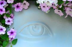 Воображаемый глаз Стоковые Изображения RF