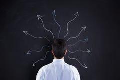 Воображение от нашего мозга Стоковое Изображение