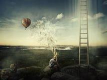 Воображение художника стоковое изображение