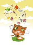 воображения s кота Стоковое Изображение RF