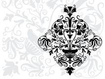 воодушевлянный элемент стиля Арт Деко иллюстрация штока