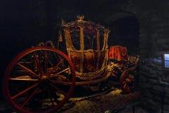 Вооружение на королевском дворце в Стокгольме, Швеции Стоковые Изображения