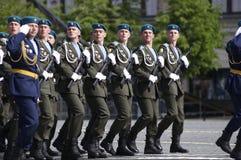 вооруженное федерирование принуждает русского Стоковая Фотография RF