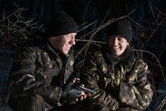 вооруженные воиска 2 людей Стоковая Фотография RF