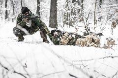Вооруженные силы страны Стоковая Фотография RF