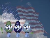 Вооруженные силы США Стоковое Фото