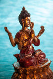 6-вооруженный размышлять Будды Стоковое Изображение