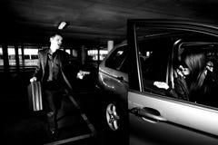 вооружённое ограбление Стоковые Фото