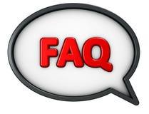 вопросы и ответы Стоковая Фотография RF