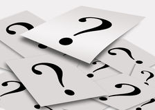 вопросы принципиальной схемы Стоковая Фотография