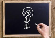 вопросы Стоковые Изображения RF