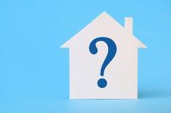Вопрос дома Стоковая Фотография RF