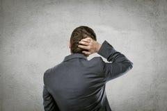 Вопрос о бизнесмена Стоковое Изображение RF