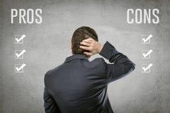 Вопрос о бизнесмена Стоковая Фотография RF