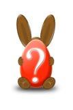вопрос о зайчика Стоковое фото RF